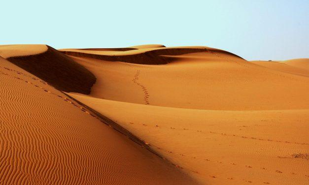 Desierto – Zona de prueba