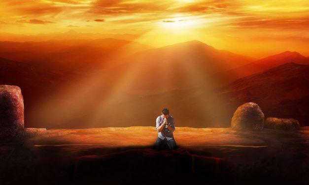 En la presencia de Dios